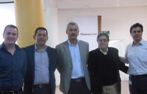 Ran Popper, Marco Vega, Carlos Torres, Luis Popper.