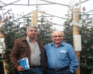 Sr. Peter Tirosh, fundador de Stockton Group con el ingeniero Clemente Bulla.