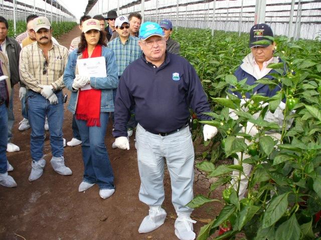 El Dr. Francisco Camacho Ferre, uno de los especialistas más destacados a nivel mundial en horticultura protegida.