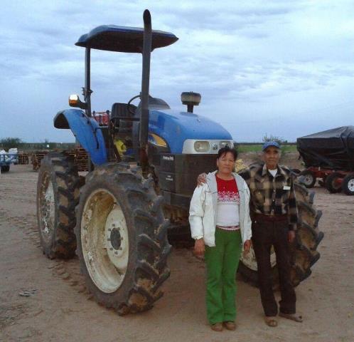 Orozco trabaja de manera activa en la selección de las mejores semillas o variedades, en cuanto a rendimiento.