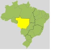 mato grosso brazil map