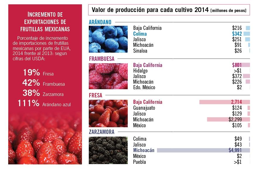 tabla 2 de berries