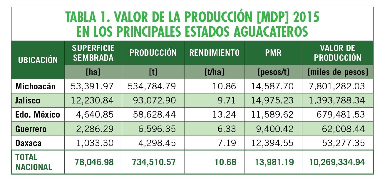 Perspectiva del sector aguacatero para mercados de exportación