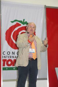 Primer día del Congreso Internacional del Tomate 2017 ofrece extraordinaria gama de conferencias educativas