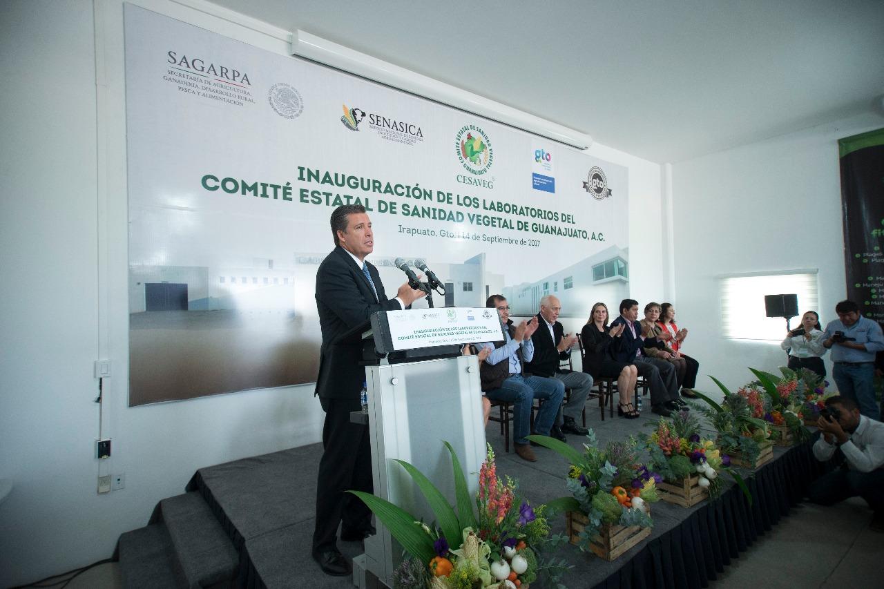 CESAVEG inaugura laboratorios de servicio a productores