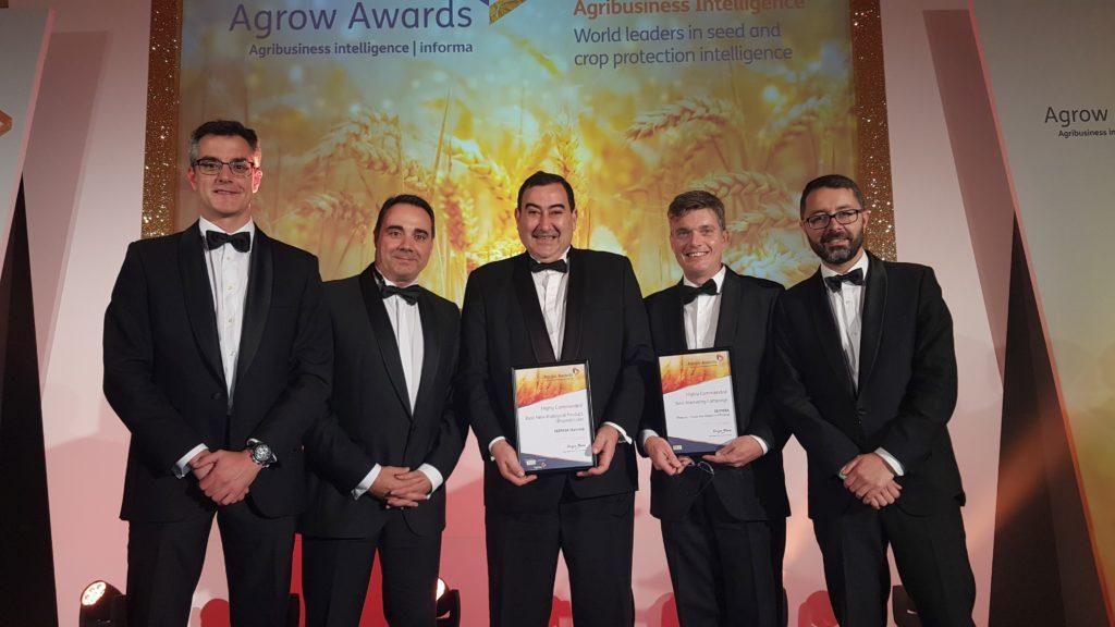 Conquista Seipasa dos menciones especiales en los premios Agrow Awards